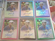 2016 Leaf Metal Tennis Base Auto John Isner Lot of 6 (5 numbered)