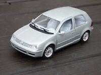 Burago 1:24 Silver 1998 Volkswagen VW Gold MK 3 1H/1E Hatchback Diecast Car Toy