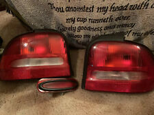 1995-1999 Dodge/Plymouth Neon Driver/Passenger Tail Lights And Third Brake Light