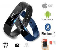 Orologio bracciale smart fitness tipo FitBit Alta USB contapassi IOS Android