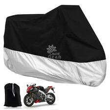 XXXL Black Waterproof Motorcycle Cover For Honda Goldwing 1100 1200 1500 1800