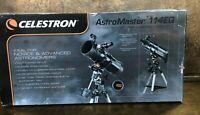 NEW in BOX Celestron 31039 AstroMaster 114EQ Reflector Telescope ~ NIB
