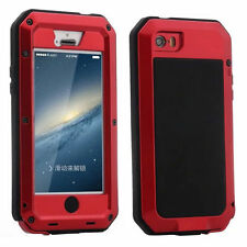 Shockproof Military Heavy Duty Gorilla Glass Metal Cover Case for iPhone 6 6S +