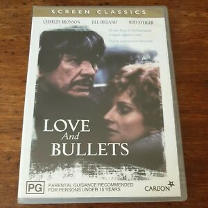 Love and Bullets DVD  R4 Like New! FREE POST