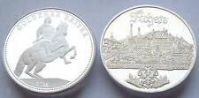 2 x 15 Gramm Silber - August der Starke - Dresden & Stadtansicht Aachen