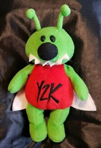 'Crash', The Millennial Bug Year2000 Collectable Used Plush Soft Toy Made Nov.98