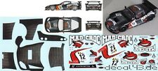 1/43 Decal Corvette C6.R 'Mad Croc' FIA GT1 WM 2010 Salo / Kuismanen