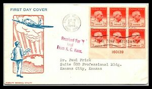GP GOLDPATH: PANAMA COVER 1948 FIRST DAY COVER _CV752_P15