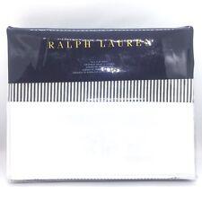 RALPH LAUREN Home Full Archival Fairview Black White Stripe Sheet (MSRP $130)