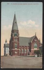 POSTCARD OAKLAND CALIFORNIA CA ST FRANCIS DE SALES CHURCH SCHOOL 1907