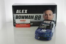 Alex Bowman Autographed 2019 Nationwide Patriotic 1:24 Nascar Diecast