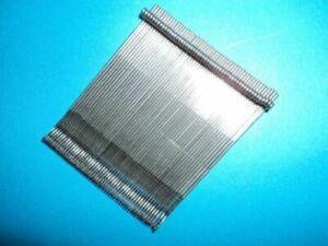 50 aiguilles pour Machine à tricoter ( 8,4 cm.) SINGER /PHIDAR./SUPERBA.