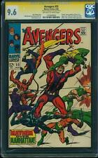 Avengers 55 CGC 9.6 SS 1st ULTRON-5 NM+ SIGNED : STAN LEE 1968 Marvel 1191840002