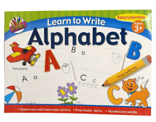 A4 Learn To Write Alphabet Letters Kids Handwriting Practice Book Pad Pre School