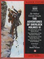 THE ADVENTURES OF SHERLOCK HOLMES: VI, Arthur Conan Doyle ~ 3-Cassette Audiobook