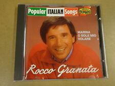 CD ARIOLA EXPRESS / ROCCO GRANATA - POPULAR ITALIAN SONGS