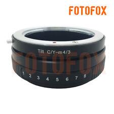 CY-M4/3 Tilt Lens Adapter Contax Yashica Lens to Micro 4/3 E-P1 GH4 Panasonic