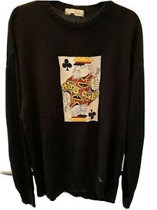 iceberg history king of clubs sweater