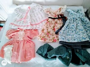 "Vintage Doll Dress Clothes LOT for 15-18"" Composition ,Cloth/Hard Plastic/Vinyl"