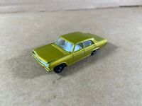 Matchbox Lesney Series No. 36 Opel Diplomat Gold with White Interior