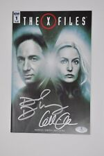 Duchovny Anderson Signed Autographed IDW The X-Files #1 Comic Book Beckett BAS