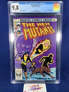 New Mutants 1 1983 CGC 9.8 White Pages Origin Karma 2nd Appearance Fox Movie