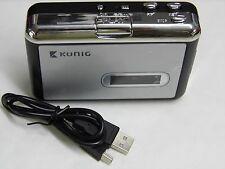 LECTEUR et CONVERTISSEUR CASSETTE K7 - analogique en numérique MP3 via port USB