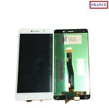 ECRAN LCD + VITRE TACTILE BLANC POUR HUAWEI Honor 6X (BLN-L21)