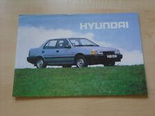 54187) Hyundai Pony Ungarn Prospekt 199?