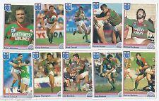 1992 Regina NSW Rugby League SOUTH SYDNEY RABBITOHS Team Set (10 Cards) ++++