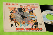 "MEL BROOKS 7"" ALTA TENSIONE COLONNA SONORA OST ORIG ITALY 1978 NM !!!!!!!!!"