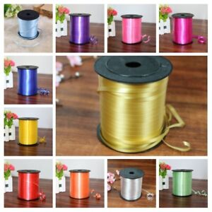 250 Yards Foil Plastic Curling Ribbon Birthday Party Balloon Gift Wrapping Decor