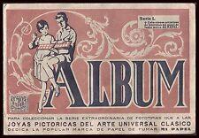 España - Spain - Album completo de 80 cromos. Joyas Pictóricas.- Serie L.- MI PA
