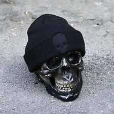 Mens Warm Winter Knit Ski Beanie Slouchy Oversize Cap Unisex Newsboy Beret Hat