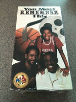 """NEW/SEALED VHS MOVIE - """"YOU MUST REMEMBER THIS"""" - TIM REID, ROBERT GUILLAUME"""""""