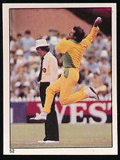 1982 Scanlens Cricket Sticker unused number 52 Dennis Lillee