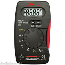AIMO M320 Digital Multimeter DMM Auto Range 4000 Counts Ammeter Capacitance Test