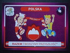 Panini 30 Polska Maskottchen EM 2012 Poland - Ukraine