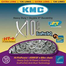 KMC X-10e EPT 10-fach 136 Glieder, E-Bike Kette, Fahrrad, Silber