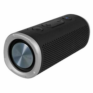 Waterproof Bluetooth Speaker W/TWS (Rockville Rocker Launcher) Black.