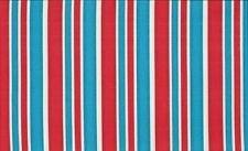 Fat Quarters Red White Blue Stripe 100 Cotton by Makower 50 X 55cm