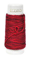 Cosmo Hidamari Sashiko Variegated Thread 30 Meters Cranberry Red
