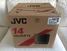 """JVC AV-14AE19D 14"""" Colour TV Fernseher Röhre Rarität  NEU OVP PAL / SECAM"""