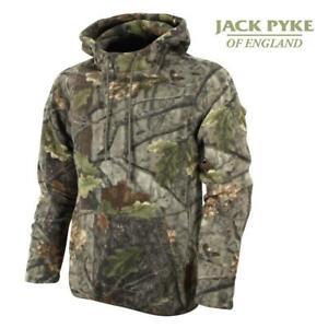 Jack Pyke Fieldman Fleece Hoodie English Oak Evo Camo Shooting Hunting Fishing