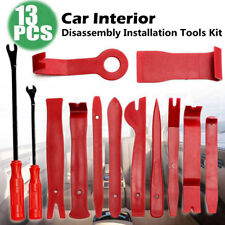 13Pc Car Auto Door Dash Audio Radio Panel Trim Install Open Removal Pry Tool Kit