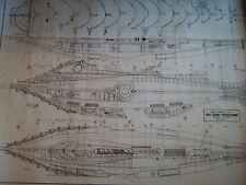 DISNEYS NAUTILUS sottomarino PIANO PIANO di CARTA EXTRA LARGE