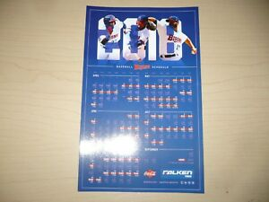 NEW! BUFFALO BISONS 2018 Magnet and Pocket Schedules, Toronto Blue Jays, AAA