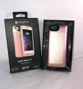 Mophie Juice Pack Air Battery Case Wireless Charging Apple iPhone 7 ROSE GOLD