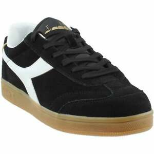 Diadora Kick Lace Up  Mens  Sneakers Shoes Casual   - Black