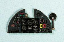 HURRICANE MK I PHOTOETCHED, COLORED INSTRUMENT PANEL TO AIRFIX  #7205 1/72 YAHU